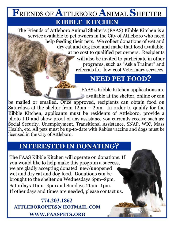 Welcome To Friends Of The Attleboro Animal Shelter Website Friends