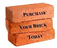 Fundraising bricks.